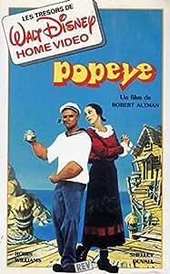 Popeye un film de robert altman avec robin williams, shelley duvall,