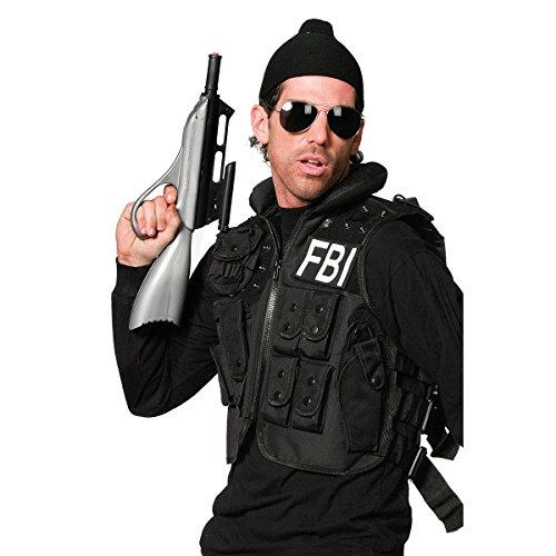 Kostümplanet® FBI Weste Spezialeinheit für FBI-Kostüm Erwachsene