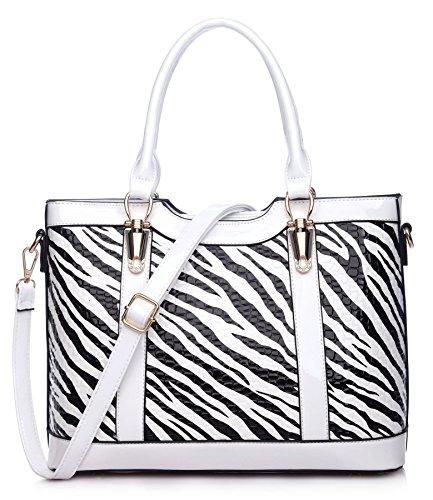 Big-Handbag-Shop-Animal-Print-Faux-Leather-Semi-Structured-Satchel-Shoulder-Bag
