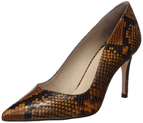 Martinelli Damen Navia Geschlossene Schuhe mit Absatz, Gelb (Senf), 39 EU