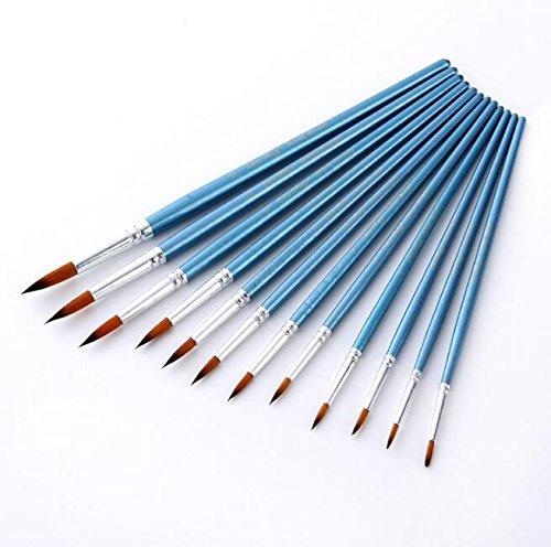 Enfoncé en nylon aquarelle Pen Peinture Lot de stylos