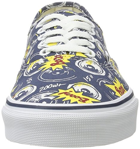 Vans Ua Authentic, Sneakers Basses Homme Boom City/True White