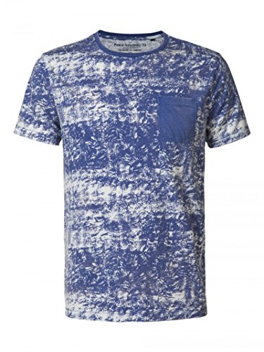 Petrol Industries Herren T-Shirt Blau