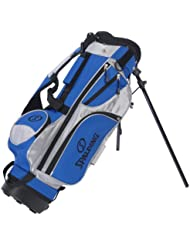 Spalding Junior Golf - Bolsa de golf infantil, color azul / negro / blanco