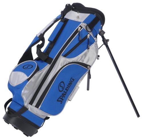 Spalding Sac de golf trépied Junior Noir/bleu/blanc