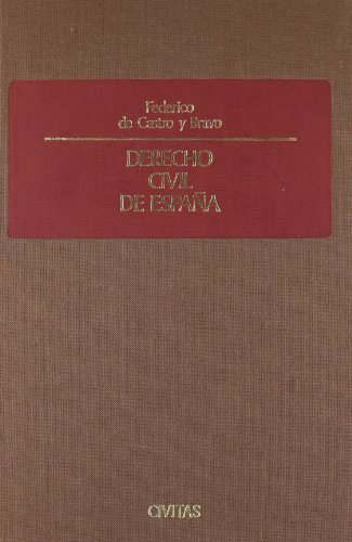 Derecho Civil De España