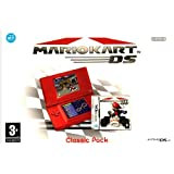 Nintendo DS Lite Console (Red) with Mario Kart Bundle (Nintendo DS) by Nintendo