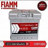batteria auto originale Fiamm cod. 7905143 L1, 50 P, 12 V, 50 Ah, 460 A, con polo positivo a destra