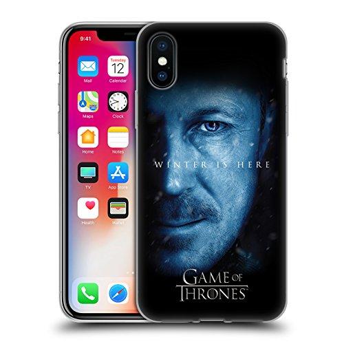 Officiel HBO Game Of Thrones Daenerys Targaryen Winter Is Here Étui Coque en Gel molle pour Apple iPhone 6 / 6s Petyr Baelish