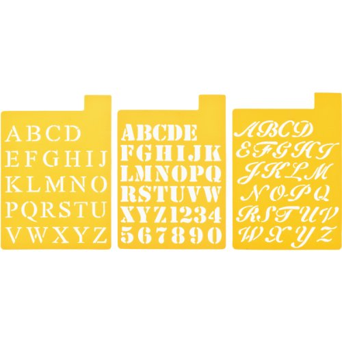 delta-creative-stencil-mania-stencils-7-by-10-inch-97sm-2150-fonts-3-pack