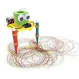 0Miaxudh Pädagogisches Spielzeug DIY nette Gekritzel-Zeichnungs-Roboter-Wissenschafts-Experiment-Schule scherzt DIY Zeichnungs-Roboter