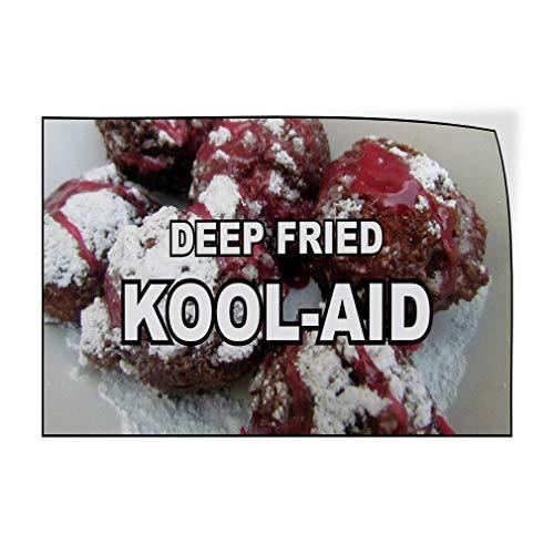 Larry Sageasd Tief Fried Kool AID Cafe Vintage Metall für Bar Garage Cafe Home 30,5 x 45,7 cm