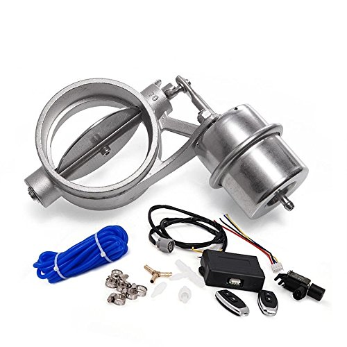 Preisvergleich Produktbild epman tk-cut70-op-boost-bz Abluftsteuerung Ventil mit 70 mm Boost ACTUATOR Ausschnitt Rohr geöffnet mit kabelloser Fernbedienung Controller-Set