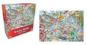 Goliath Toys 71402 Wacky World Waterworld - Juego de Figuras Decorativas para el Agua