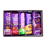 #2: Cadbury Dairy Milk Silk Combo Pack (Pack Of 5) 270Gm