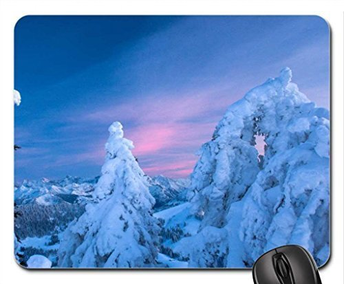 Winter-sunset Mouse Pad, Mousepad (Winter Mouse Pad)