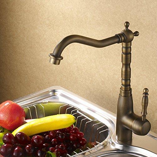 hiendurer-miscelatore-monocomando-lavello-classico-antico-in-ottone-rubinetto-della-cucina
