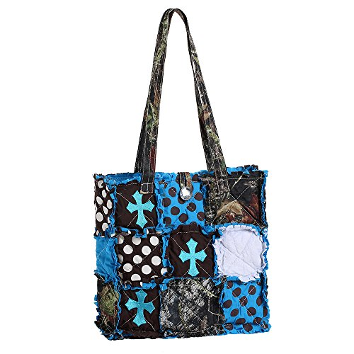 Surblue ,  Damen Tasche chrom-blau