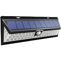 Luce Solare Mpow di 54 LED, Lampada Wireless ad Energia Solare da Esterno Impermeabile con Sensore di Movimento, Luci Solari da Esterni con 54 Lampadine LED, 3 Modalità Funzione, per Parete, Muro, Gia