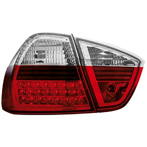 Dectane RB27LRC LED Rückleuchten BMW E90 3er Lim. 05+ red/crystal