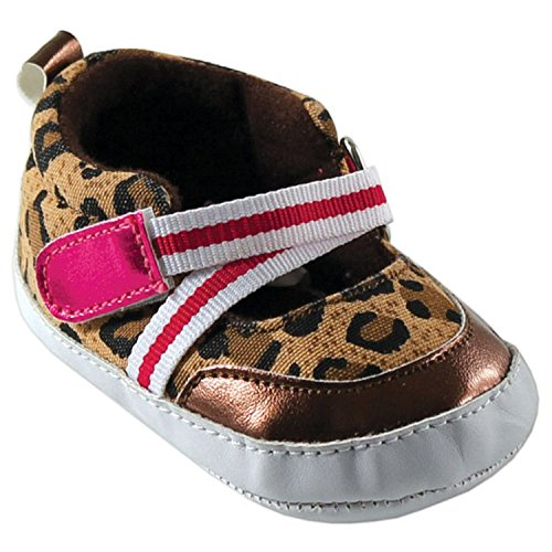 Luvable Friends, Stivaletti bambine Marrone Brown Leopard 6-12 mesi Brown Leopard