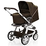 ABC Design Turbo 4 - Kombikinderwagen - Komplett-Set 2in1 - inkl. Babywanne & Sportwagen (Leaf)