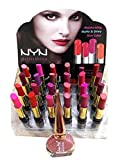 #8: NYN LONG LASTING MATTE & RICH COLOR 24 with Free 1 London Pride Eyeliner
