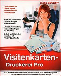 Visitenkartendruckerei Pro