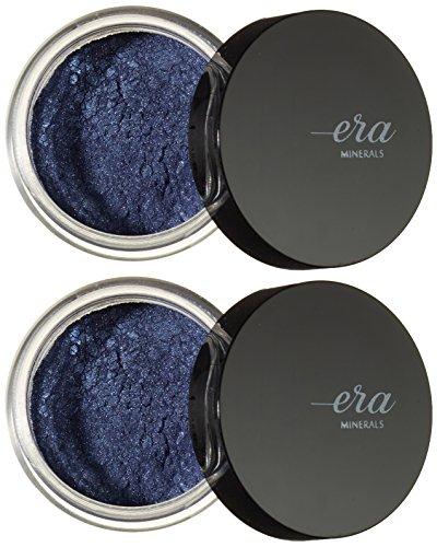 Era Minerals Eyeshadow Jewel Ombre à paupières Tons bleus - Lot de 2