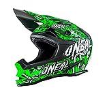 O'Neal 7Series MX Helm Evo Menace Neongrün Moto Cross Motorrad, 0583M-10, Größe X-Small (53-54cm)