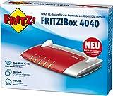 AVM FRITZ!Box 4040 WLAN-Router für Anschluss an Kabel-/DSL-/Glasfasermodem (Dual-WLAN AC + N, 866 MBit/s (5 GHz) + 400 MBit/s (2,4 GHz), 4 x Gigabit-LAN, 1 x USB 3.0, 1 x USB 2.0, Mediaserver), geeignet für Deutschland