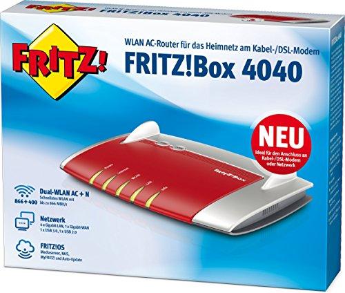 AVM-FRITZBox-4040-WLAN-Router-fr-Anschluss-an-Kabel-DSL-Glasfasermodem-Dual-WLAN-AC-N-866-MBits-5-GHz-400-MBits-24-GHz-4-x-Gigabit-LAN-1-x-USB-30-1-x-USB-20-Mediaserver-geeignet-fr-Deutschland