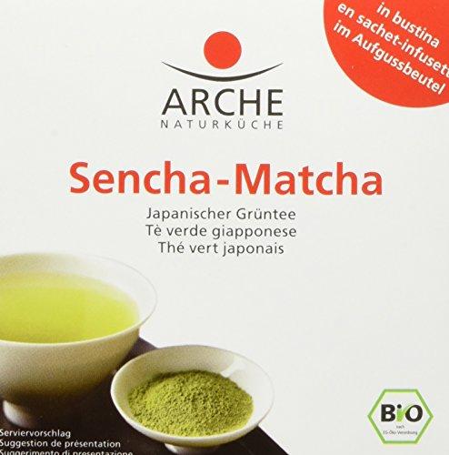 Arche Bio Sencha-Matcha, 6er Pack (6 x 15 g)