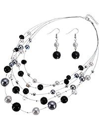 nuovo di zecca 54e7a 867ff Amazon.it: collane donna - Parure di gioielli / Donna: Gioielli