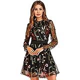 01cbb34e841d Vestidos de fiesta manga larga | El mejor producto de 2019 ...