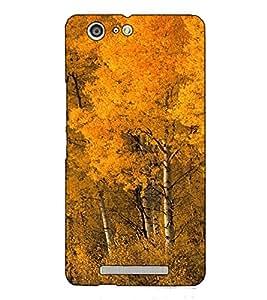 Fuson Designer Back Case Cover for Gionee Marathon M5 (Trees Forest Garden Beauty)