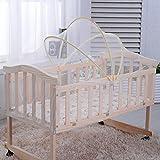 Mosquitera para cuna, cuna de bebé tienda de campaña Arco cuna cama Mosquito Nets bebé seguridad cubierta de copas Random