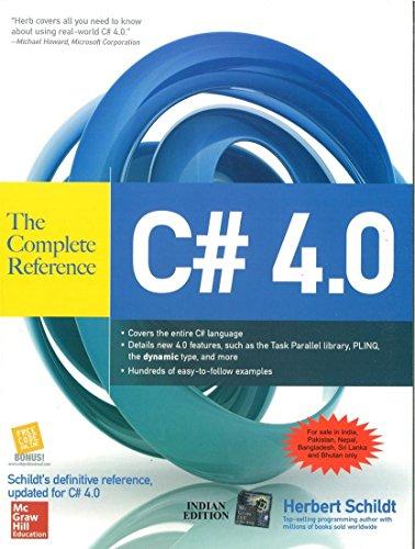 C# 4.0: The Complete Reference - Herbert Schildt