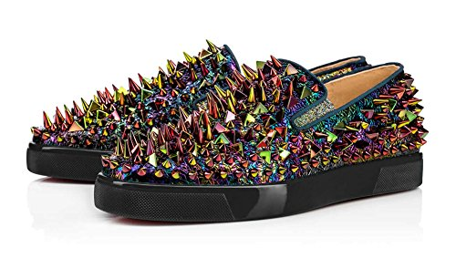 zxd-nigma-zapatillas-slipon-chaos-magick-disruptivas-irisadas-multicolor-tachuelas-de-colores-talla-