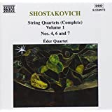 Shostakovich: String Quartets, Vol. 1