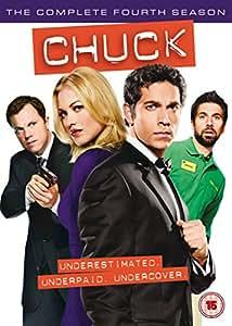 Chuck: The Complete Fourth Season [Edizione: Regno Unito] [Edizione: Regno Unito]