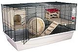 PETGARD Mäuse- und Hamsterkäfig BORNEO L DELUXE