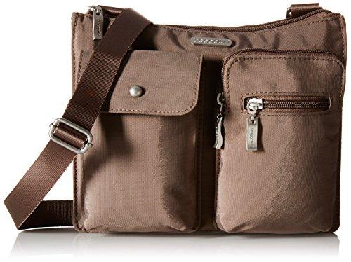 Baggallini Everything Crossbody Travel Bag, Portobello, One Size -