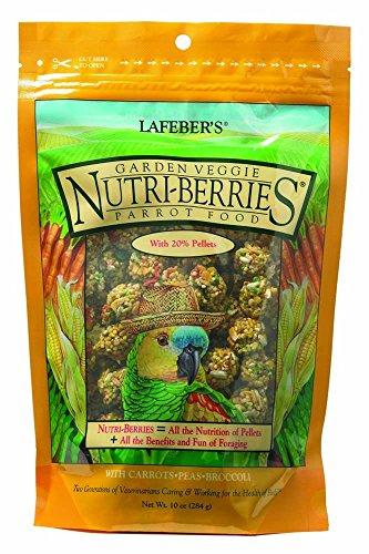 Lafeber 's Gourmet Garden Veggie nutri-Berries für Papageien 10oz Tasche -