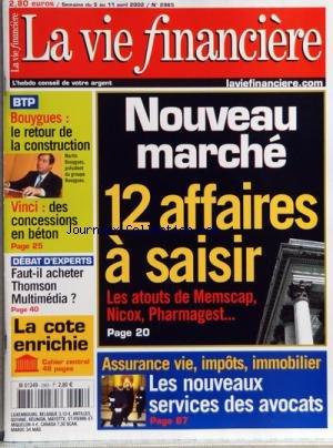 QUE CHOISIR [No 85] du 01/02/2002