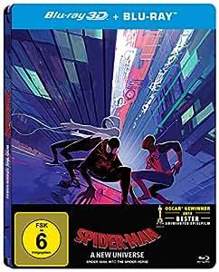 Spider-Man: A new Universe (limited 3D Steelbook Amazon Exklusiv) [Blu-ray]