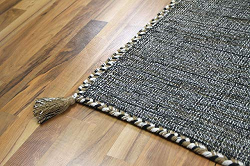 Prico - Tapis Kilim Naturel - Ivoire - 8 Tailles Disponibles