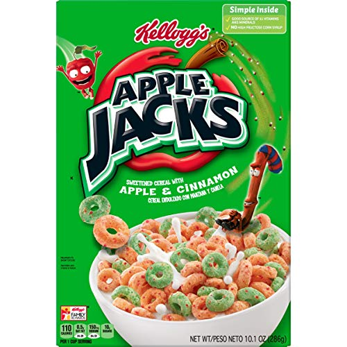 Kelloggs Apple Jacks 345g cereal