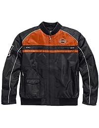 Harley Davidson® Men's Moto Ride Nylon Jacket - 98553-15VM