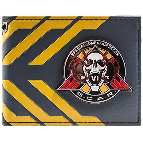 rte Warfare SCAR Blau Portemonnaie Geldbörse ()